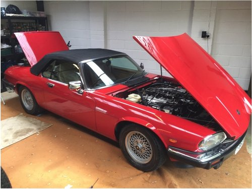 1989 XJS v12 convertible 2 plus 2 For Sale (picture 3 of 4)