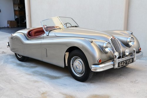 1954 JAGUAR XK 140 Roadster For Sale (picture 4 of 6)