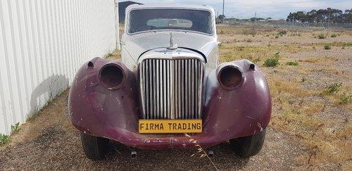 1950 Jaguar MK V / MK5 Restoration Project Firma Trading  SOLD (picture 1 of 6)