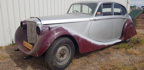 1950 Jaguar MK V / MK5 Restoration Project Firma Trading  SOLD (picture 2 of 6)