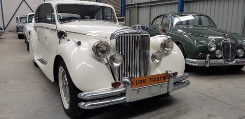1950 Jaguar MK V / MK5 Ex Wedding Car by Firma Australia SOLD (picture 1 of 6)