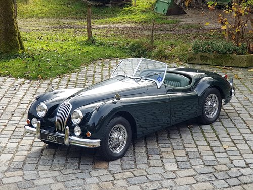 1956 Jaguar XK 140 OTS, completely restored For Sale (picture 1 of 6)