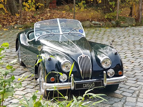 1956 Jaguar XK 140 OTS, completely restored For Sale (picture 5 of 6)