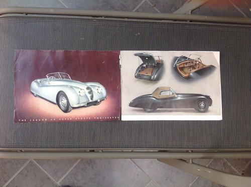 1959 JAGUAR 1960  MARK IX 3.8 ORIGINAL  OWNERS MANUAL For Sale (picture 1 of 6)