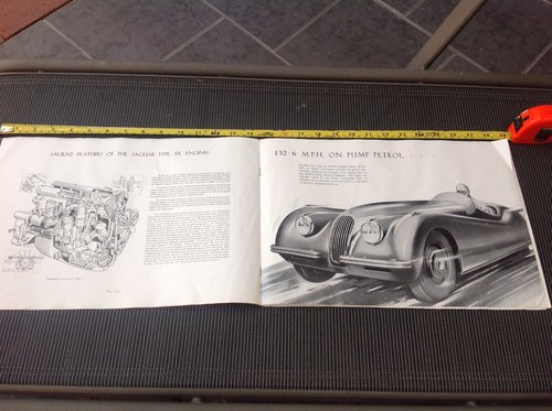 1959 JAGUAR 1960  MARK IX 3.8 ORIGINAL  OWNERS MANUAL For Sale (picture 2 of 6)