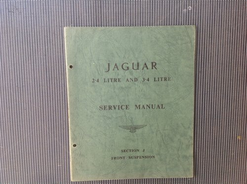 1959 JAGUAR 1960  MARK IX 3.8 ORIGINAL  OWNERS MANUAL For Sale (picture 3 of 6)