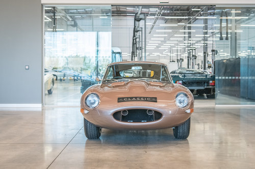 1963 Jaguar E-Type Coupe Semi-Lightweight SOLD (picture 2 of 6)