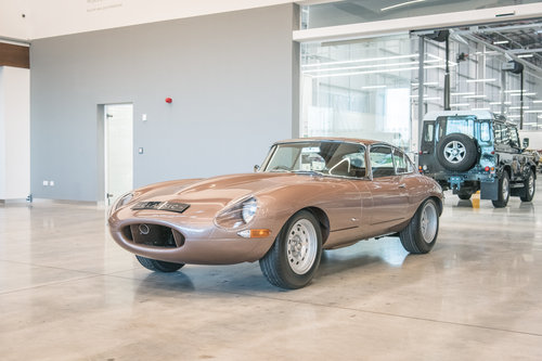 1963 Jaguar E-Type Coupe Semi-Lightweight SOLD (picture 3 of 6)