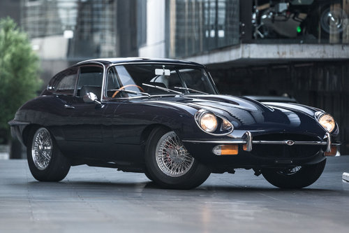 1969 Jaguar E-Type 4.2L Series II (Manual Coupe) SOLD (picture 1 of 6)