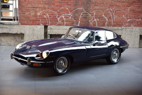 1969 Jaguar E-Type 4.2L Series II (Manual Coupe) SOLD (picture 2 of 6)