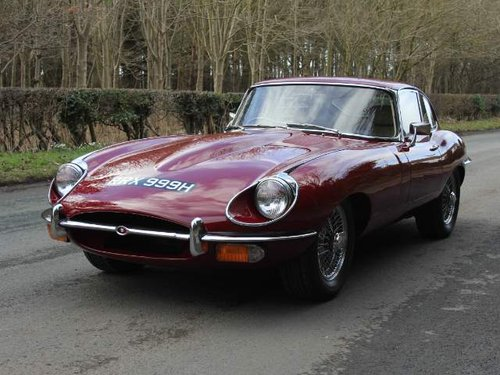 1969 Jaguar E-Type Series II FHC Matching No's, 83k mls Top Class For Sale (picture 2 of 6)