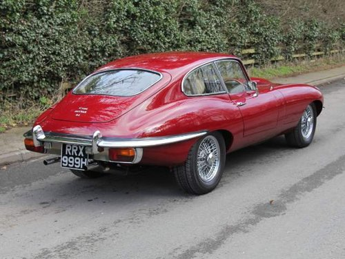 1969 Jaguar E-Type Series II FHC Matching No's, 83k mls Top Class For Sale (picture 3 of 6)