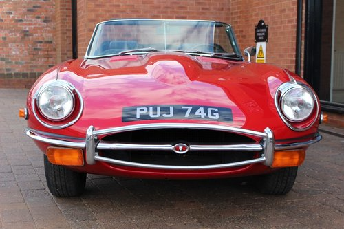 1969 Jaguar E-Type 4.2 Series ll Roadster SOLD (picture 1 of 6)
