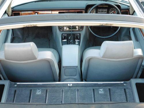1986 JAGUAR XJS CABRIOLET  V12 JUST 31,535 MILES UNRESTORED MINT For Sale (picture 4 of 6)