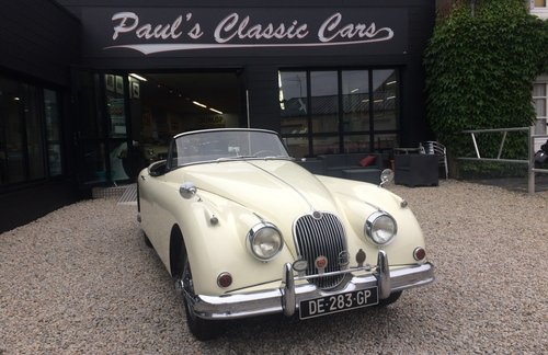 1959 Jaguar XK150 roadster  For Sale (picture 1 of 5)