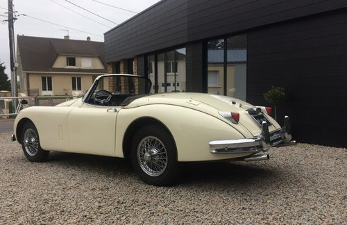 1959 Jaguar XK150 roadster  For Sale (picture 3 of 5)