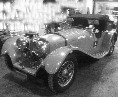1936 Jaguar SS100 3 1/2 liter  For Sale (picture 1 of 1)