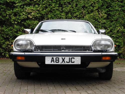 1986 JAGUAR XJS CABRIOLET  V12 JUST 31,535 MILES UNRESTORED MINT For Sale (picture 1 of 6)