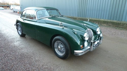 1960 XK150 3.8 Fixed Head Coupe Similar to 'S' specification For Sale (picture 1 of 6)