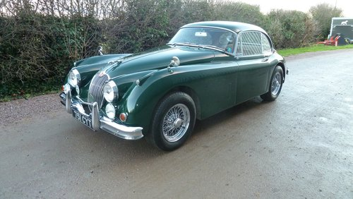 1960 XK150 3.8 Fixed Head Coupe Similar to 'S' specification For Sale (picture 2 of 6)