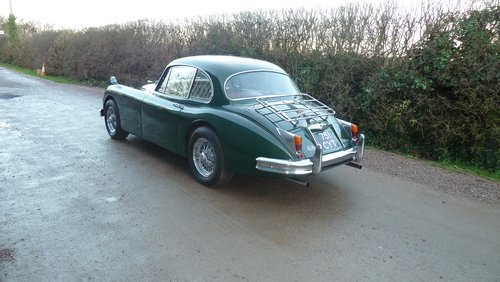 1960 XK150 3.8 Fixed Head Coupe Similar to 'S' specification For Sale (picture 3 of 6)
