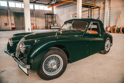 1953 Jaguar XK120 Drophead Coupe British Racing Green. For Sale (picture 1 of 6)