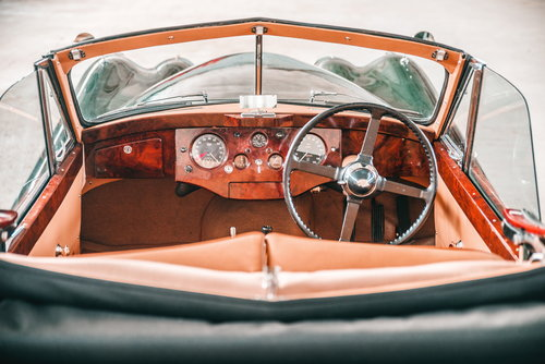 1953 Jaguar XK120 Drophead Coupe British Racing Green. For Sale (picture 6 of 6)