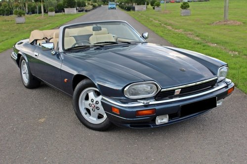 1993 Rare 6 Litre V12 Jaguar XJS Convertible.  For Sale (picture 1 of 6)