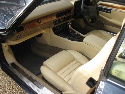 1993 Rare 6 Litre V12 Jaguar XJS Convertible.  For Sale (picture 6 of 6)