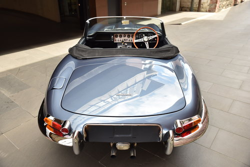 1961 Jaguar E-Type Series 1-3.8 Flat Floor Roadster For Sale (picture 4 of 6)