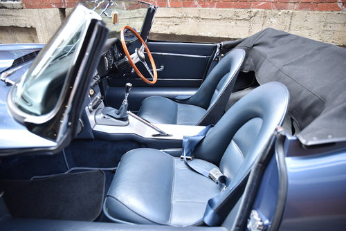 1961 Jaguar E-Type Series 1-3.8 Flat Floor Roadster For Sale (picture 6 of 6)