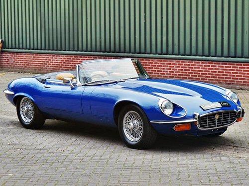 1975 Jaguar E-TYPE V12 ser3 convertible € 94.500 For Sale (picture 1 of 6)