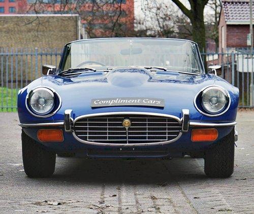 1975 Jaguar E-TYPE V12 ser3 convertible € 94.500 For Sale (picture 6 of 6)