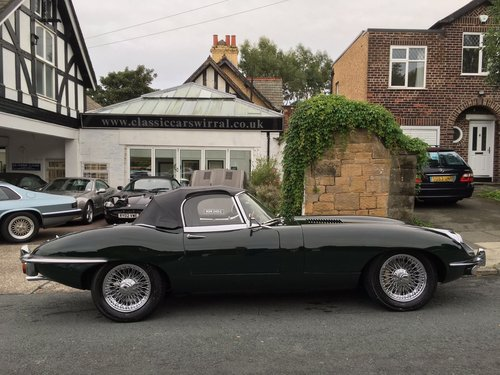 1970 Jaguar E-Type 4.2 Roadster UK Car  - FINANCE AVAILABLE For Sale (picture 2 of 6)