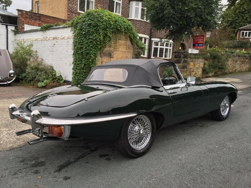 1970 Jaguar E-Type 4.2 Roadster UK Car  - FINANCE AVAILABLE For Sale (picture 3 of 6)