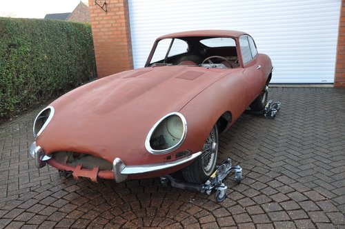 1962 E-Type Series 1 3.8 litre - Full Matching Numbers Project For Sale (picture 1 of 6)