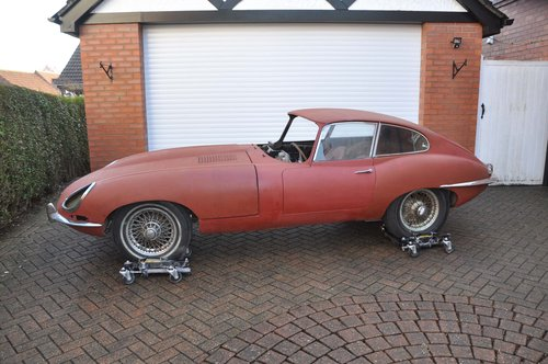 1962 E-Type Series 1 3.8 litre - Full Matching Numbers Project For Sale (picture 2 of 6)