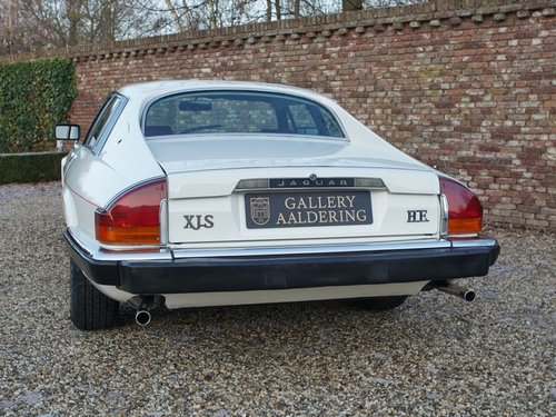 1985 Jaguar XJ-S V12 HE superb original condition, only 29.522 mi For Sale (picture 6 of 6)
