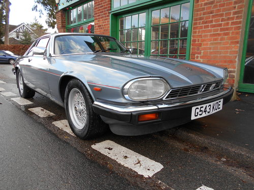 1990 Jaguar XJS 3.6 Coupe Automatic  For Sale (picture 2 of 6)