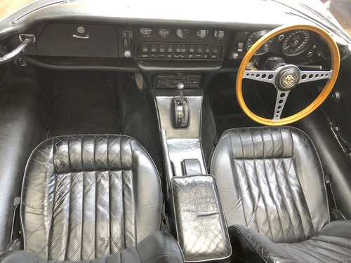1969 JAGUAR E TYPE SERIES II 2+2 Coupe Auto   RHD with sun roof For Sale (picture 4 of 6)