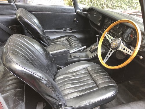 1969 JAGUAR E TYPE SERIES II 2+2 Coupe Auto   RHD with sun roof For Sale (picture 5 of 6)