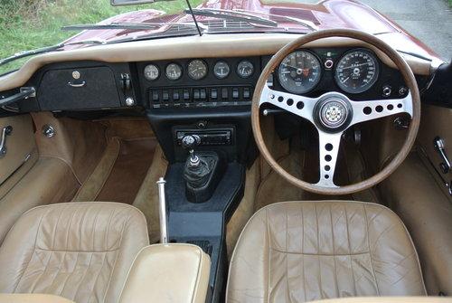 1969 JAGUAR E TYPE SERIES II ROADSTER RHD MANUAL For Sale (picture 5 of 6)