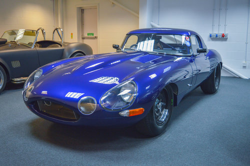 1962 Jaguar E Type Lightweight FIA HTP For Sale (picture 1 of 6)