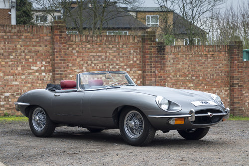 1969 JAGUAR E-TYPE SERIES II 4.2 ROADSTER For Sale (picture 1 of 6)
