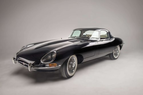 1962 Jaguar Type E Série 1 3,8L Roadster avec Hard Top For Sale by Auction (picture 1 of 5)