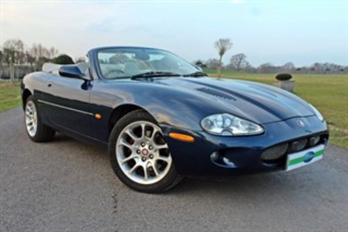 1999 JAGUAR XKR CONVERTIBLE 37,000 MILES For Sale (picture 1 of 6)