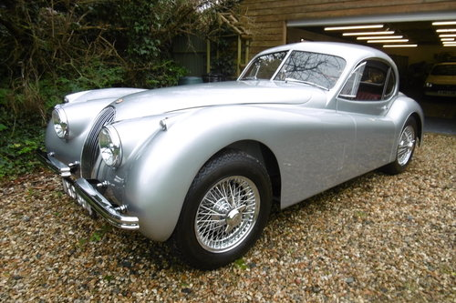 1952 XK120 STUNNING CONCOURSE 5 speed   SOLD (picture 1 of 6)