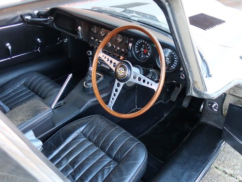 1967 Jaguar E Type S1 4.2 FHC. Only 33,000 miles For Sale (picture 4 of 6)