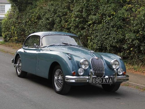 1960 Jaguar XK150 3.4 SE - UK Matching Numbers Car SOLD (picture 1 of 6)