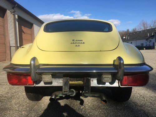 1970 Jaguar XKE e-type 2+2 coupe manual transmission  For Sale (picture 2 of 4)
